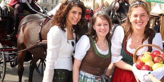 Steirer feiern am Wiener Rathausplatz