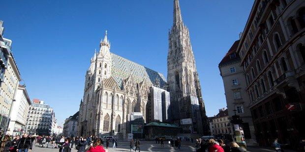 Noch nie waren so viele Touristen im März in Wien
