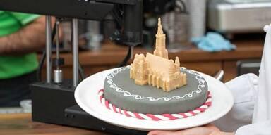 Essbarer Stephansdom aus dem 3D-Drucker