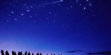 Heute regnet es Sternschnuppen