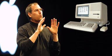 """Apple """"Lisa"""" war Steve Jobs größter Flop"""