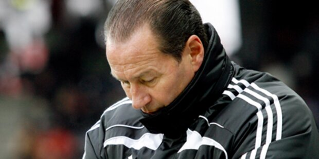 RB Salzburg feuert Trainer Stevens