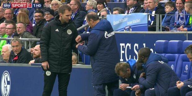 Stevens verschenkt Zuckerl, Schalke die Punkte