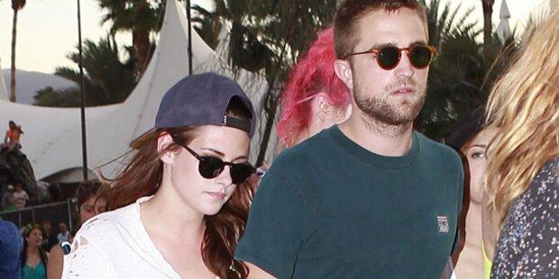 Kristen & Rob: Hand in Hand auf Festival