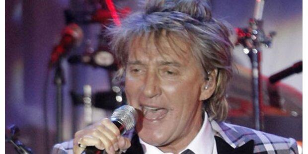Rod Stewart tritt im Juni 2010  auf
