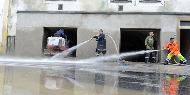 Unwetter: Lage in Steyr spitzt sich zu
