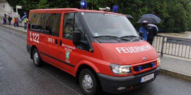 Oberösterreich: Überflutungen in Steyr