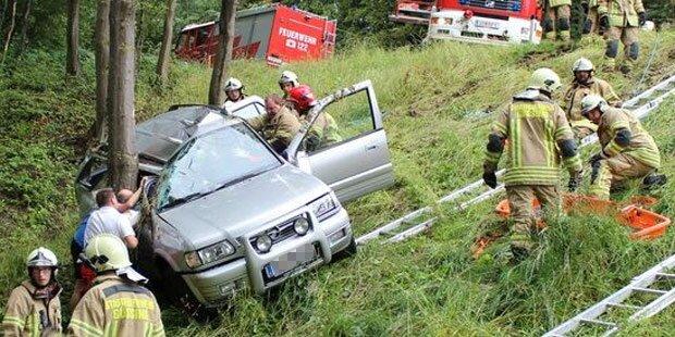 Mädchen (15) bei Crash schwer verletzt