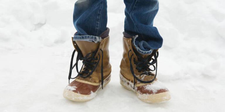 Erste Hilfe für Ihre Winter-Schuhe