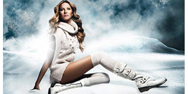 Sexy Gisele Bündchen im Schnee...