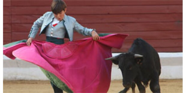 Zehnjähriger ist bereits ein Stierkämpfer