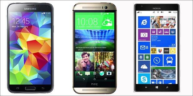 Das sind die aktuell besten Smartphones