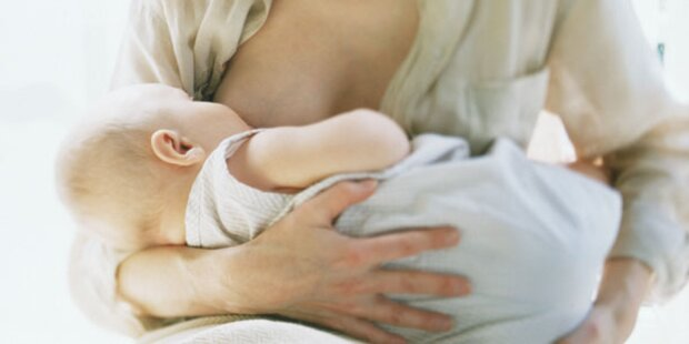 Muttermilch enthält mehr als 700 Bakterien