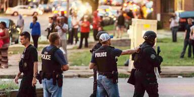 US-Polizei erschießt schwarzen Verdächtigen