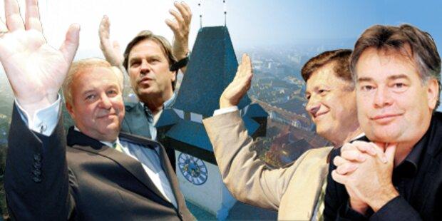 Wahlkampf-Finale in der Steiermark