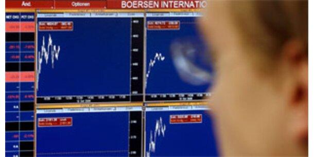 Wieder Kursverluste an Europas Börsen