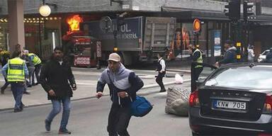 Polizei bestätigt: Stockholm-Attentäter gefasst
