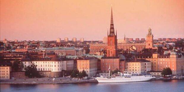 Ab ins wunderschöne Stockholm!