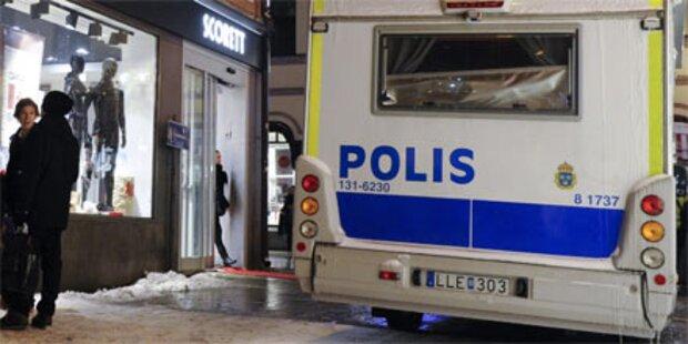 Bomben-Attrappe in Stockholmer U-Bahn