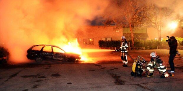 Brennende Autos nun auch in Malmö