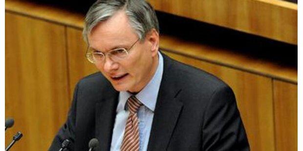 Stöger schießt sich auf ÖVP ein