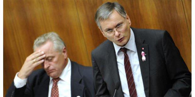 Häme für BZÖ-Misstrauensantrag
