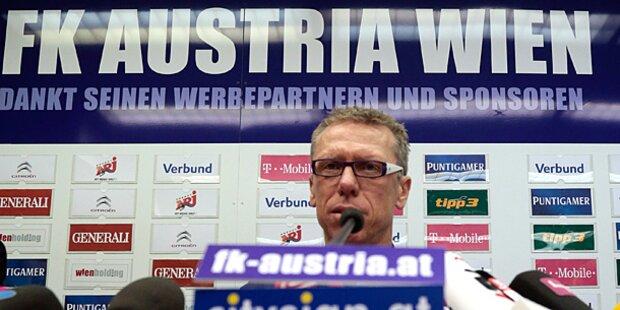 Peter Stöger neuer Austria-Trainer