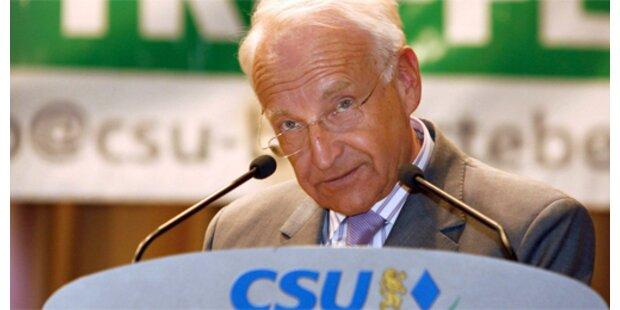 69 Prozent der Bayern gegen Stoiber