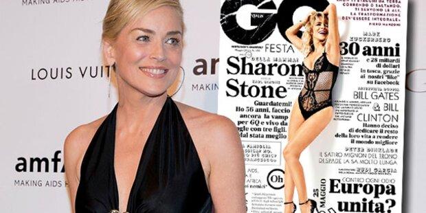 Sharon Stone (56): Superheiß auf GQ-Cover