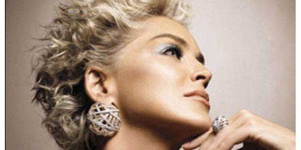 Sharon Stone wirbt für Damiani-Schmuck