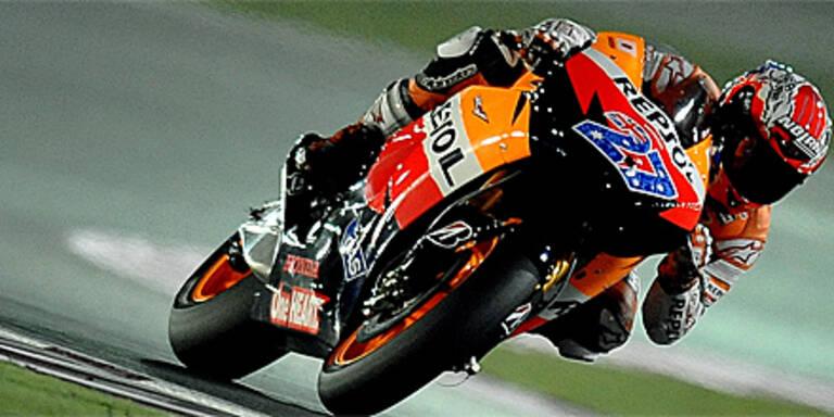 Australier Stoner gewann MotoGP-Auftakt