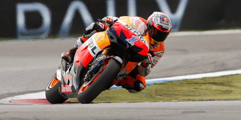Moto-GP: Stoner siegt in Assen