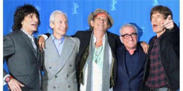 Rolling Stones eröffnen 58. Berlinale