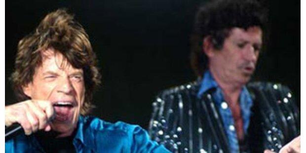 Zickenterror bei den Rolling Stones