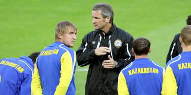 Kasachstan feuert Trainer Storck