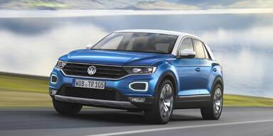 "VW T-Roc: ""Golf-SUV"" offiziell vorgestellt"