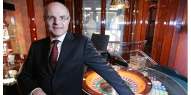Casino-General Stoss will russisches Roulette