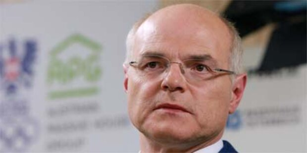 ÖOC-Affäre: Zahlte Stoss 100.000 Euro?