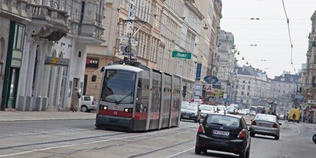 Währinger Straße: Bim- Sperre bald aufgehoben