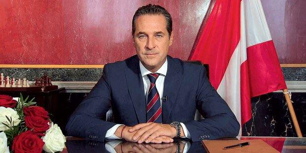 Strache als blauer Hofburg-Kandidat
