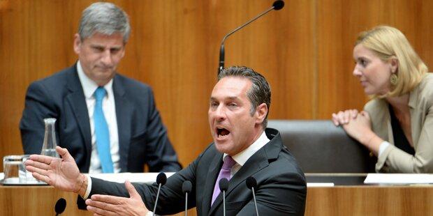 Schrei-Duelle im Parlament