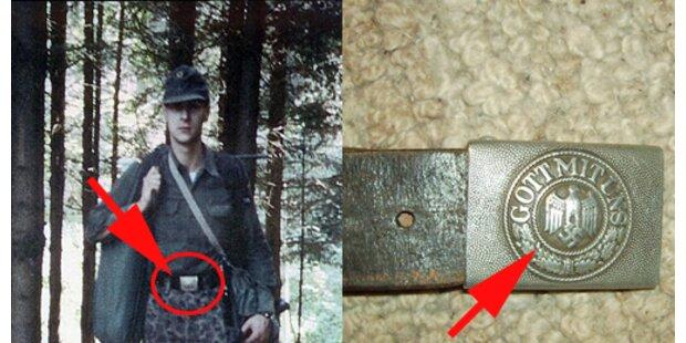 Strache mit Wehrmachtsgürtel?