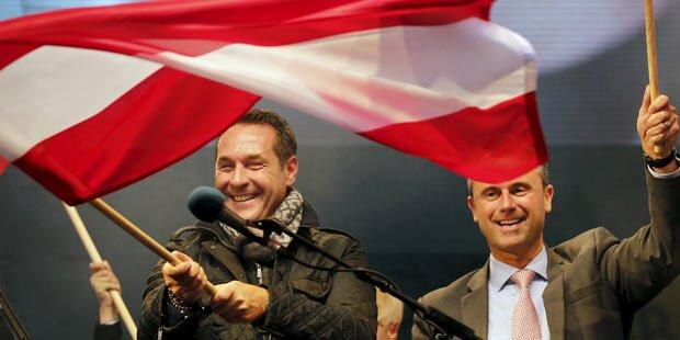 FPÖ: Der unaufhaltsame Zug nach vorne