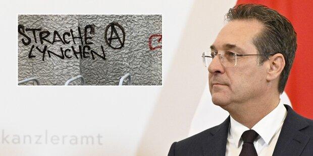 Mord-Drohungen gegen Strache bei Wiener U-Bahn