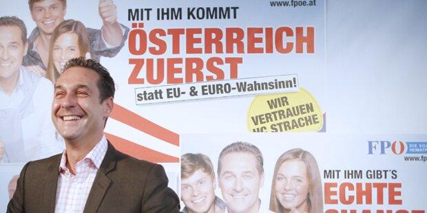 FPÖ startet in den Wahlkampf