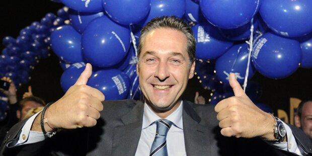 Strache liebäugelt mit der SPÖ