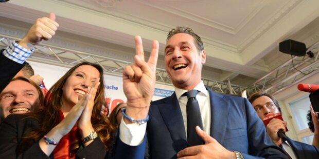 Strache erneut Vorzugsstimmen-Sieger
