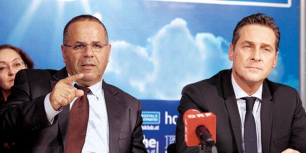 Jetzt spaltet Strache die Israelis