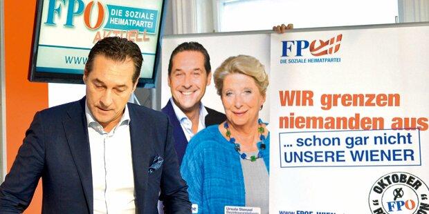 Strache will Mikl-Leitner und Faymann anklagen