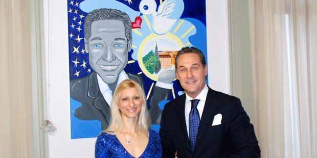 Internet lacht über Strache-Porträt